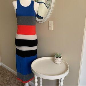 Express Color Block Tank Knit Dress Size S